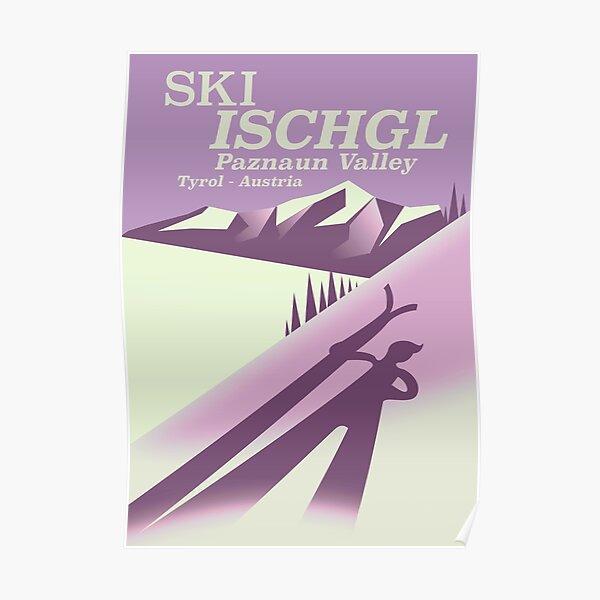Ski Ischgl, Paznauntal Tirol, Österreich. Poster
