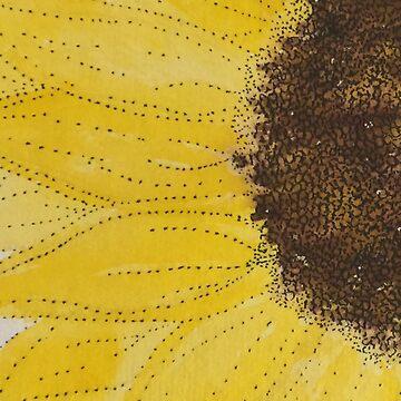 Abstract Sunflower by Tarasadventure