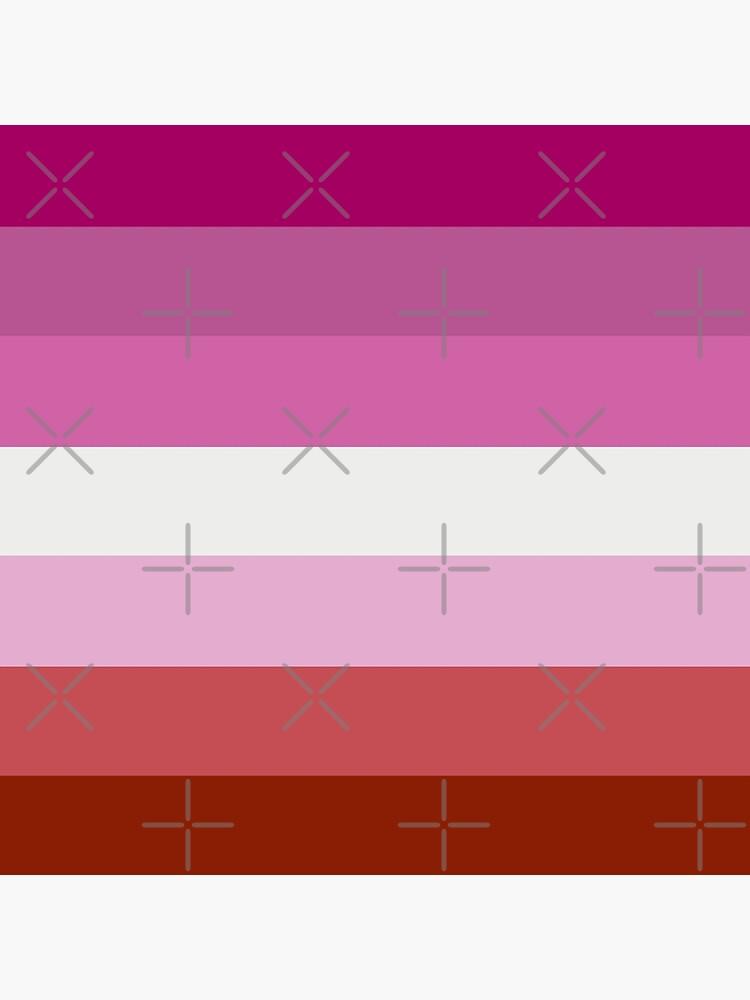Lesbian Pride Flag by ValentinaHramov