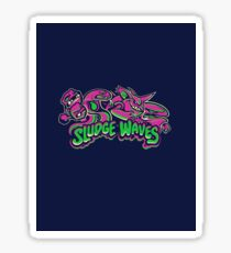 'Sludge Waves' Team of Pokémon Sticker