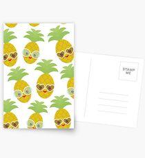 Happy Pineapples Postcards