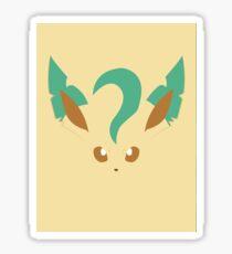 Leafeon Pokémon Sticker