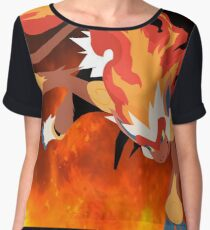 """""""Blaze"""" Infernape Pokémon Women's Chiffon Top"""