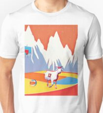 Goat in the basketball court T-Shirt
