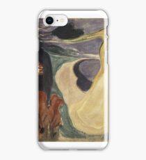 Edvard Munch, (), SEPARATION iPhone Case/Skin