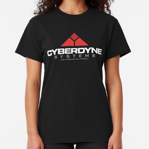 Terminator - Cyberdyne Systems White Classic T-Shirt