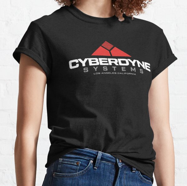Terminator - Cyberdyne Systems White Classic T-Shirt