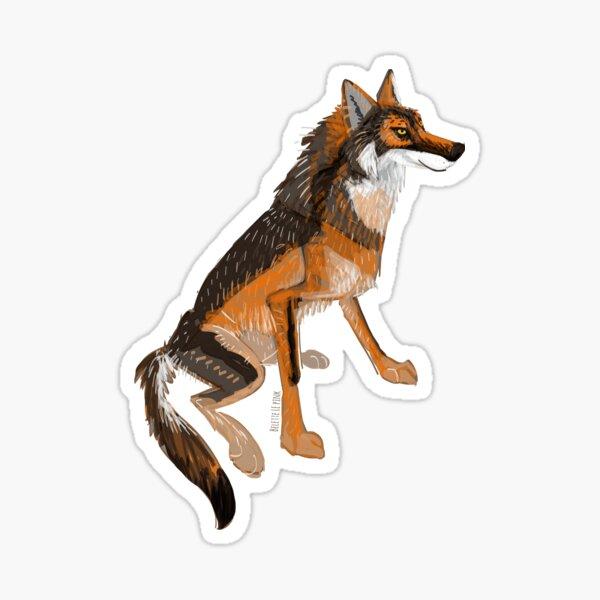 Totem Iberian Wolf  Pegatina