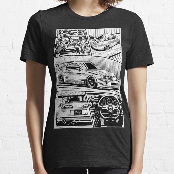 Supra. Details (white background) Essential T-Shirt