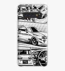 Supra. Details (weißer Hintergrund) Hülle & Klebefolie für Samsung Galaxy