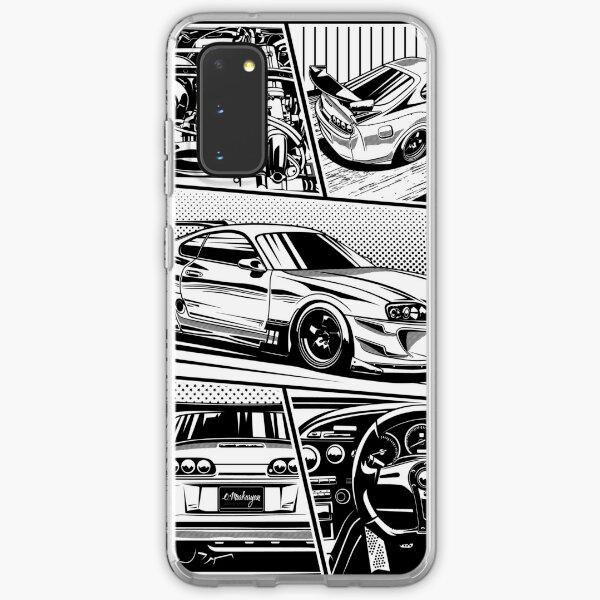 Supra. Details (white background) Samsung Galaxy Soft Case