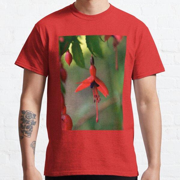 Single Wild Fuchsia Flower, Loch Na Fooey Classic T-Shirt