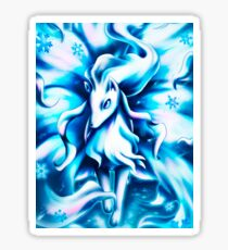 Ninetales Alola Pokémon Sticker
