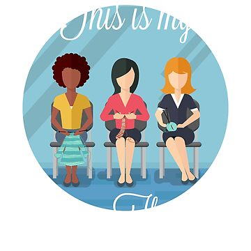Ladies Group Therapy of Knitting by Katnovations