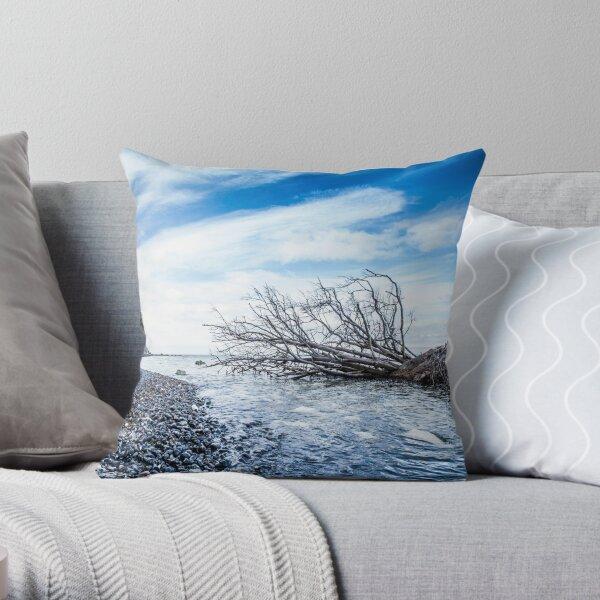 Ocean bed Throw Pillow