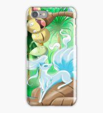 Ninetales Alola and Exeggutor Alola Pokémon Sun and Moon iPhone Case/Skin