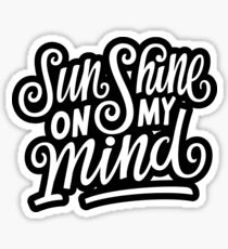 Sunshine | Lettering Quote Hand Draw Typography Sticker
