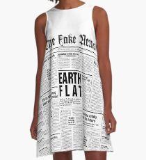 The Fake News Vol. 1, No. 1 A-Line Dress