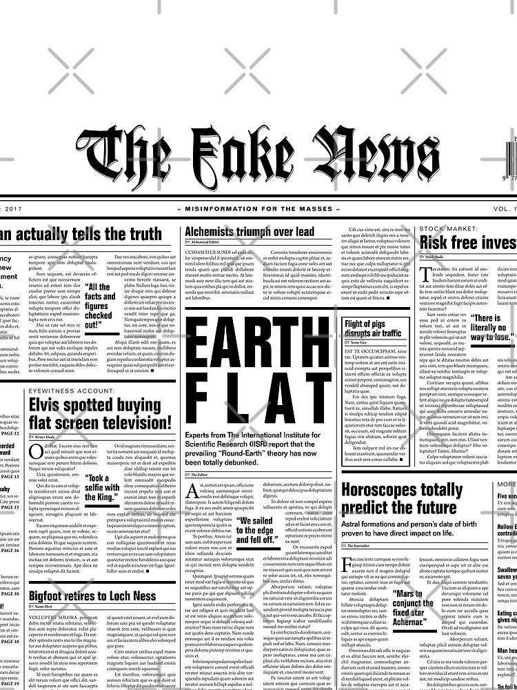 The Fake News Vol. 1, No. 1 by GrandeDuc