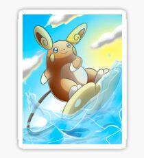 Raichu Alola Pokémon Sun and Moon Sticker
