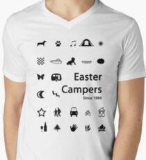 Easter Campers since 1984 Men's V-Neck T-Shirt