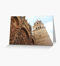 Salamanca Cathedral, Spain Greeting Card