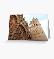 Tarjeta de felicitación Salamanca Cathedral, Spain