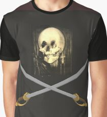 ALL-IS-VANITY PIRATE FLAG Graphic T-Shirt