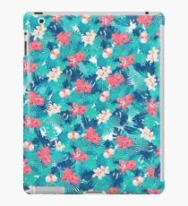 Tropical flowers 2 iPad Case/Skin