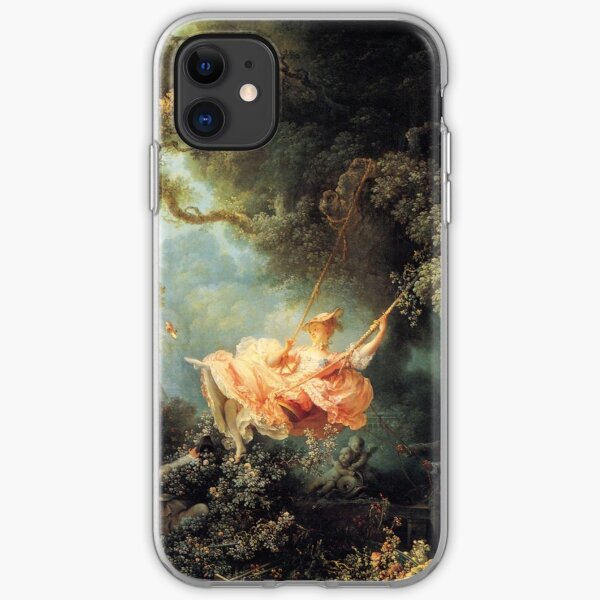 The Swing by Jean-Honoré Fragonard iPhone Soft Case