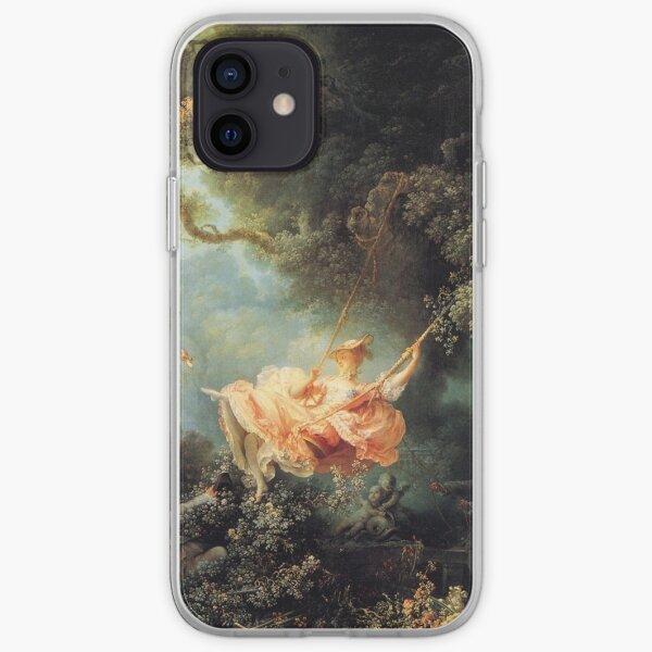 El columpio de Jean-Honoré Fragonard Funda blanda para iPhone
