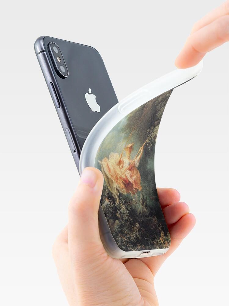 Vista alternativa de Vinilos y fundas para iPhone El columpio de Jean-Honoré Fragonard