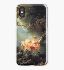 The Swing by Jean-Honoré Fragonard iPhone Case/Skin