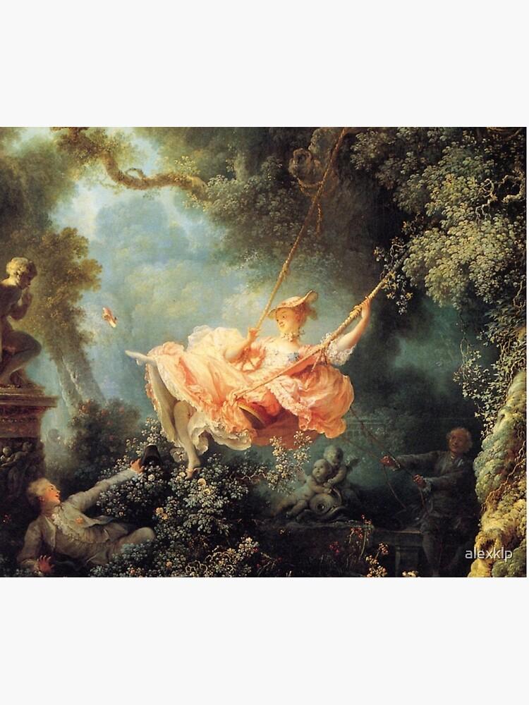 The Swing by Jean-Honoré Fragonard by alexklp