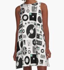 Daten A-Linien Kleid