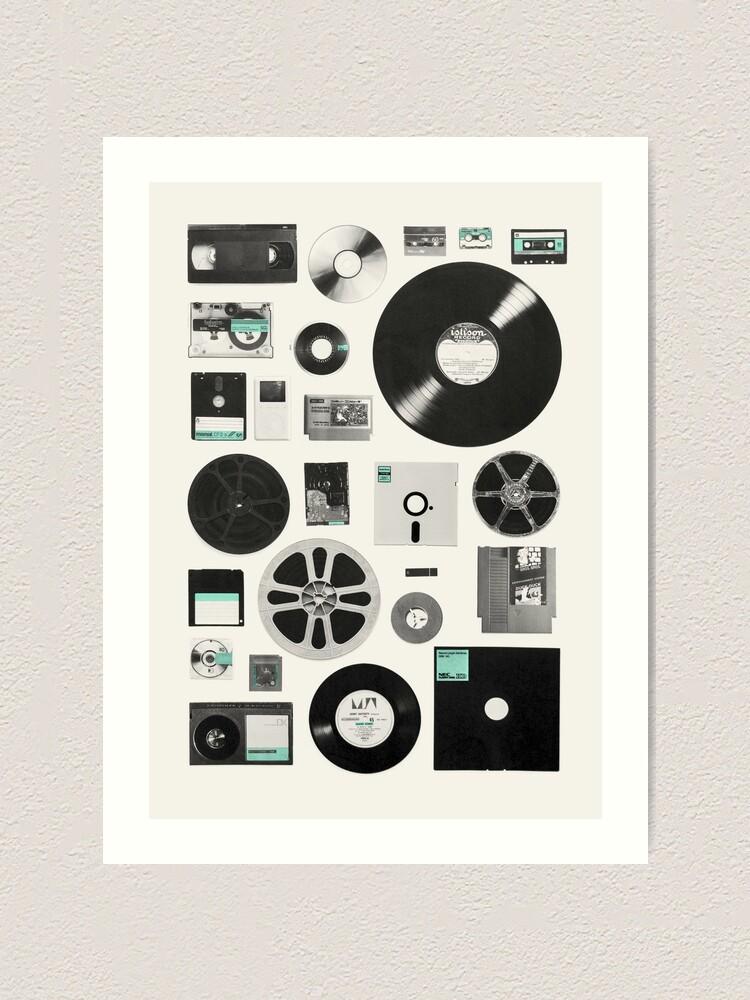 Alternate view of Data Art Print