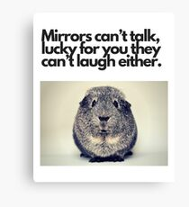 Funny and Amusing.... Canvas Print