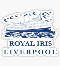Royal Iris Liverpool Sticker
