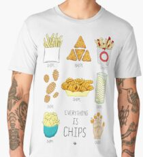 Everything Is Chips Men's Premium T-Shirt