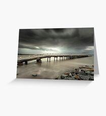 Grantville jetty Greeting Card