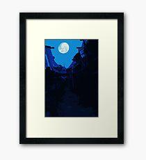 Salem's Secret  Framed Print