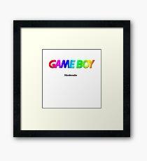 Game Boy Color StartScreen Framed Print