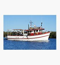 Barra Boat Photographic Print