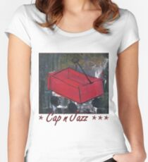 Cap'n Jazz – Burritos, Inspiration Point... Women's Fitted Scoop T-Shirt