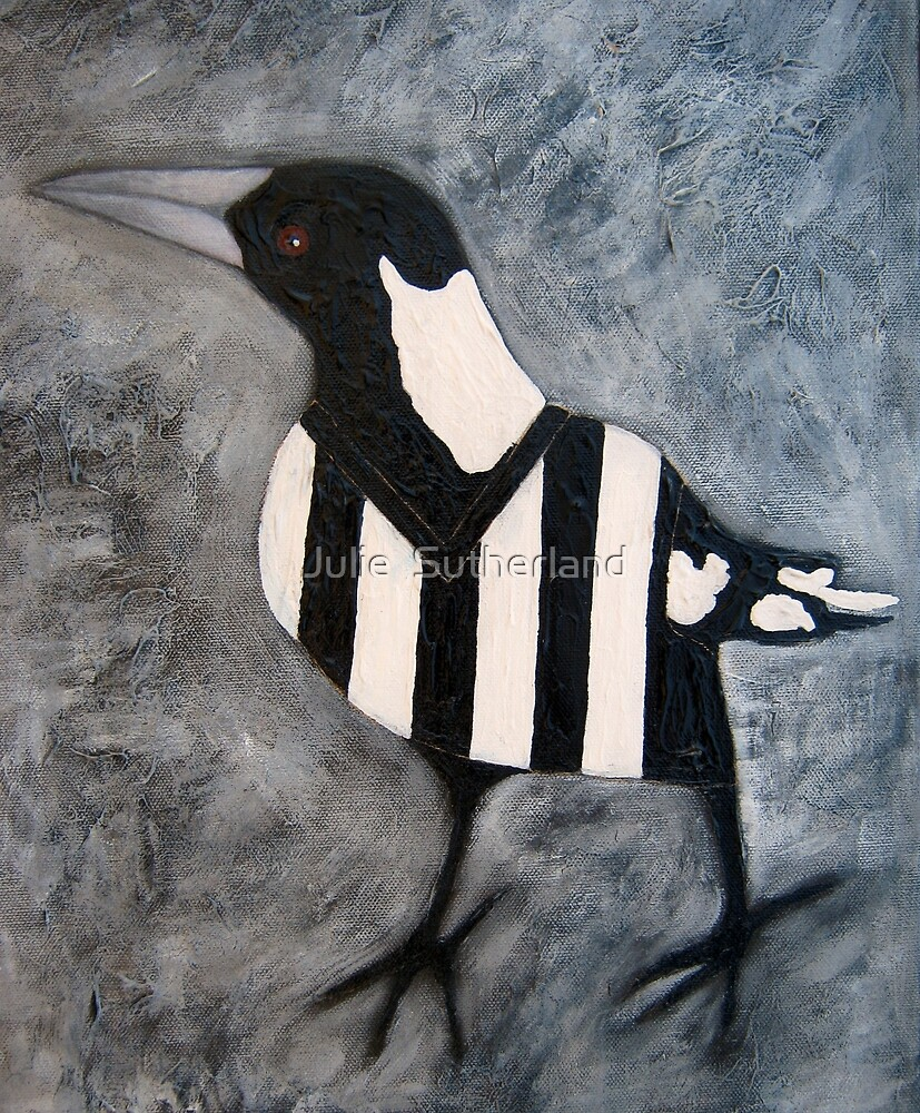 Magpie by Julie  Sutherland