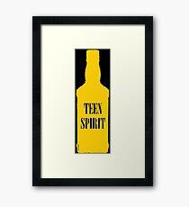Teen Spirit [Yellow Bottle] Framed Print
