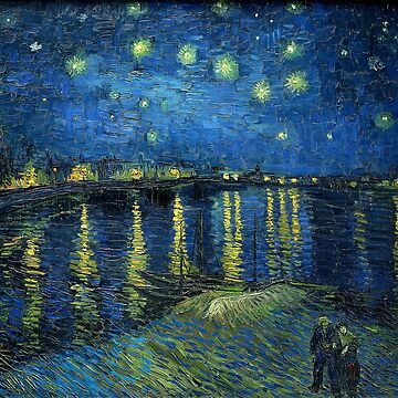 Starry Night Over the Rhône by Vincent van Gogh by alexklp