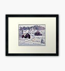 Waits River, Vermont Framed Print