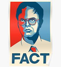 The Office - Dwight Schrute FACT. Poster Art Poster