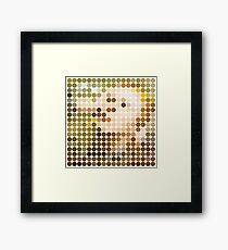 David Bowie, Hunky Dory, Benday Dots Framed Print